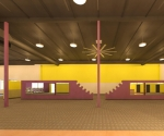Revit planet fitness paint east wall