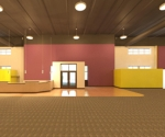 Revit planet fitness paint west wall